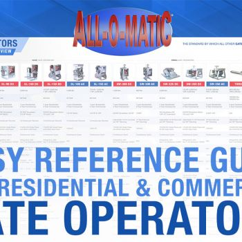 EASY GATE OPERATOR REFERENCE GUIDE