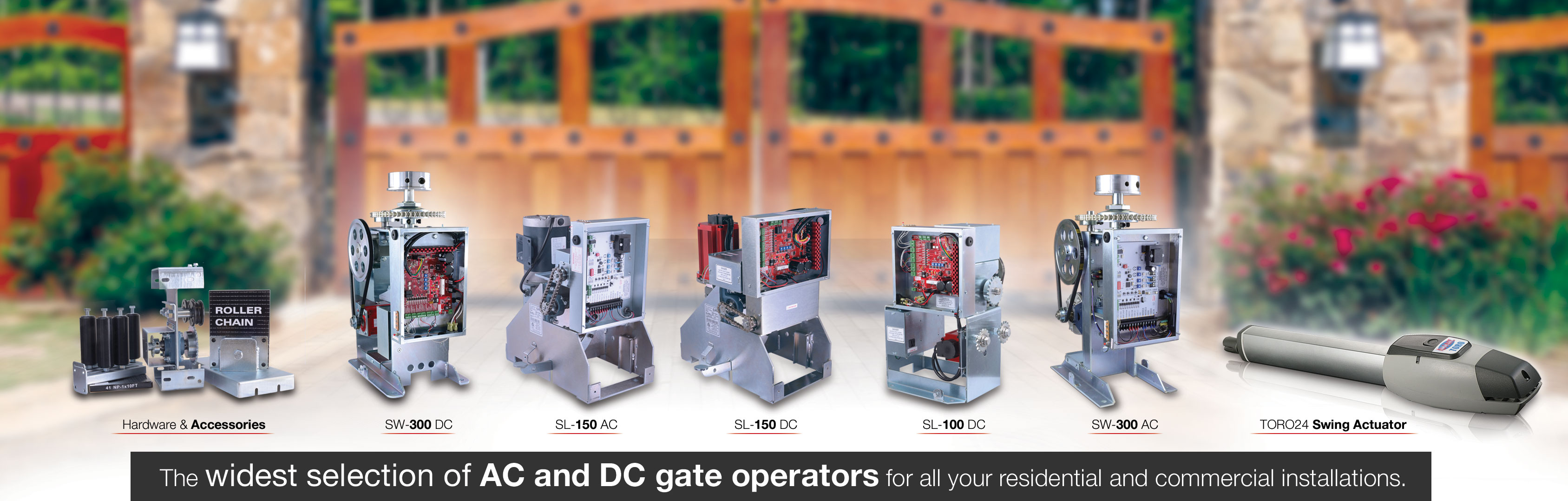All-O-Matic - The Leader in Gate Operators Video